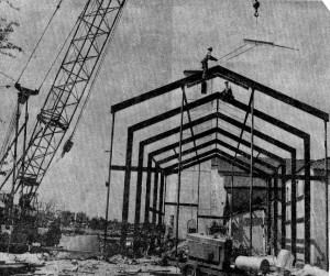 Chapel Under Construction in 1975